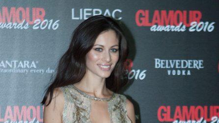 Michelle Hunziker a Sanremo con lo stesso abito di Marica Pellegrinelli
