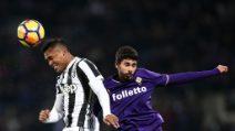 Serie A, le immagini di Fiorentina-Juve