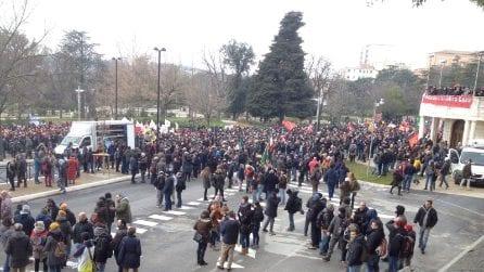 Corteo antifascista a Macerata: città blindata e scuole chiuse