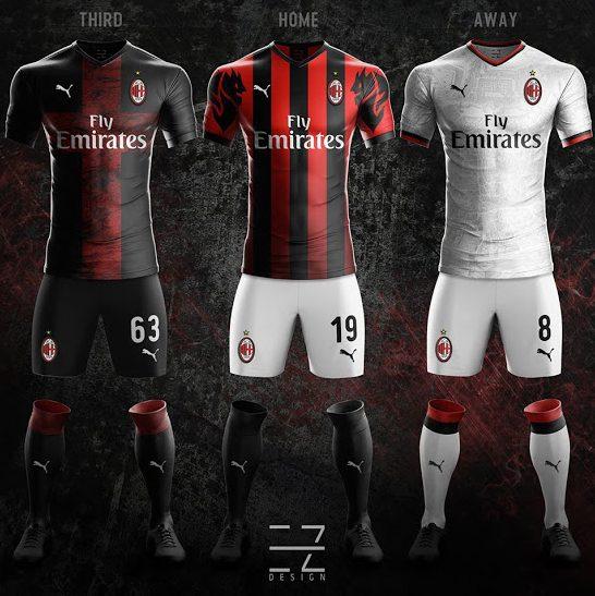 0a835bda7d7017 Puma, la nuova maglia del Milan 2018/2019