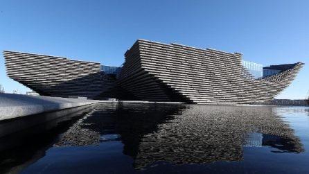 Foto esclusive dal nuovo Victoria and Albert Museum Dundee in Scozia