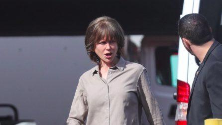 Nicole Kidman irriconoscibile sul set del nuovo film