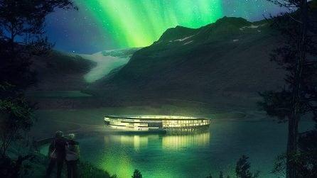 L'hotel con vista mozzafiato sul Circolo Polare Artico