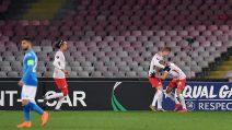 Europa League, le immagini di Napoli-Lipsia
