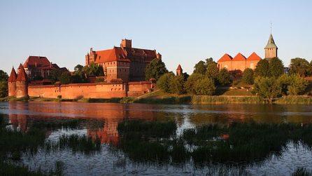 Castello di Malbork, la fortezza in mattoni più grande del mondo