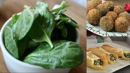 5 gustose ricette da preparare con gli spinaci