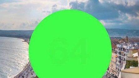 Guardate al centro del cerchio verde: che numero vedete?