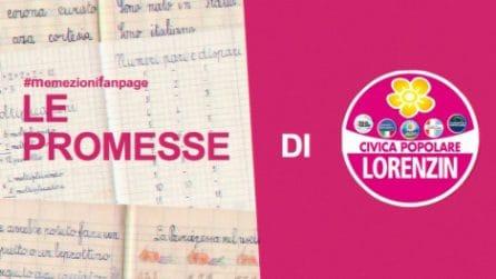 """#memezionifanpage - Le """"promesse"""" di Civica Popolare"""