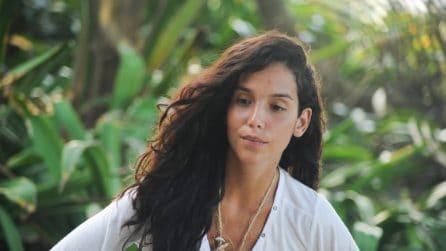 Paola Di Benedetto senza trucco: il prima e dopo della showgirl all'Isola dei Famosi