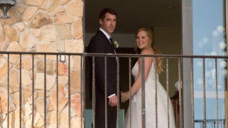 Le foto del matrimonio di Amy Schumer
