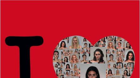 Donne dello spettacolo e principesse Disney con il volto tumefatto: Palombo in mostra a New York