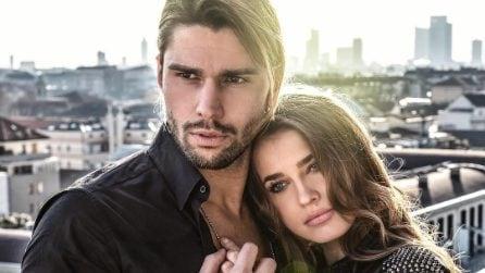 I look coordinati di Ivana Mrazova e Luca Onestini