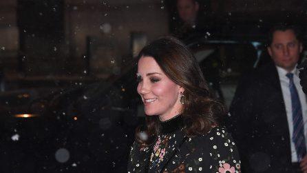 "Il look ""da neve"" di Kate Middleton"
