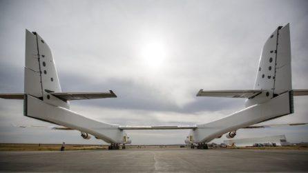 A bordo dell'aereo più grande mai costruito