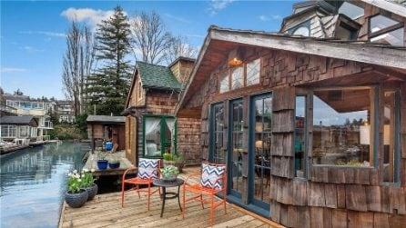 Vivere in una casa galleggiante da sogno a Seattle