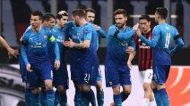 Europa League, le immagini di Milan-Arsenal