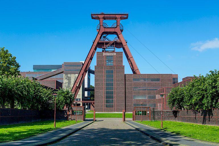 Il portale Zollverein Mine, 2013 © Jochen Tack / Stiftung Zollverein