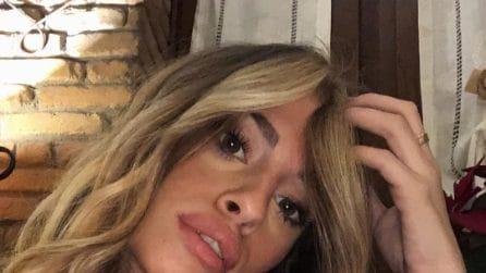 Chiara Nasti con i capelli biondi