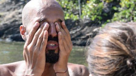 """Il pianto di Jonathan all'Isola: """"La gente è cattiva"""""""