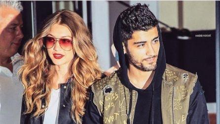 I look più fashion di Gigi Hadid e Zayn Malik
