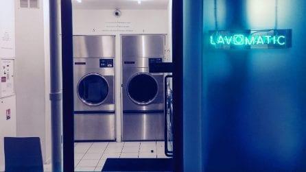 Sembra una lavanderia come le altre ma nasconde un segreto
