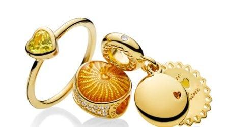 Shine, la collezione Pandora in oro