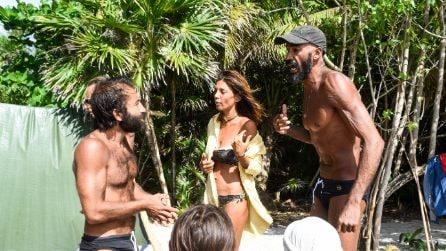Lo scontro tra Amaurys Perez e Simone Barbato