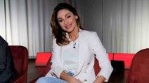 Le foto di Anna Tatangelo al 'Maurizio Costanzo Show'