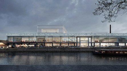 Il nuovo Centre Pompidou di Bruxelles