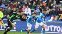Serie A, le immagini di Sassuolo-Napoli