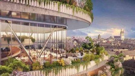 Una foresta verticale progettata per i Millennials di Parigi