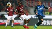 Serie A 2017/2018, le immagini di Milan-Inter