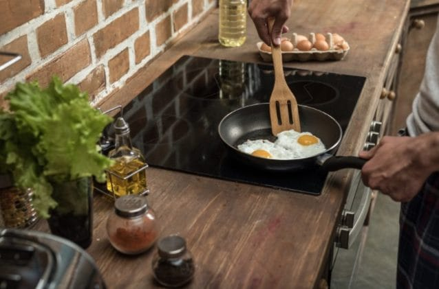 Use a non-stick pan.