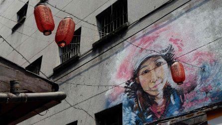 L'arte dei murales a Taipei