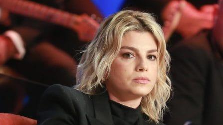 """Il look di Emma al """"Maurizio Costanzo Show"""""""
