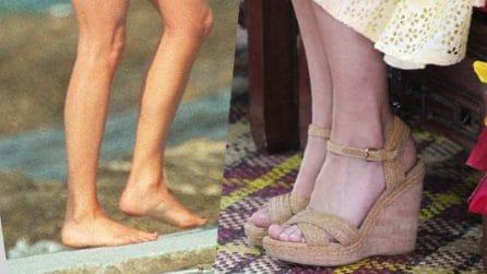 Tutti i piedi dei reali inglesi