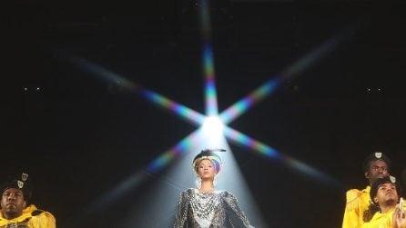 I look di Beyoncé al Coachella 2018