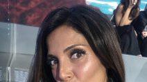 Il look di Alessia Mancini per il ritorno dall'Isola dei Famosi