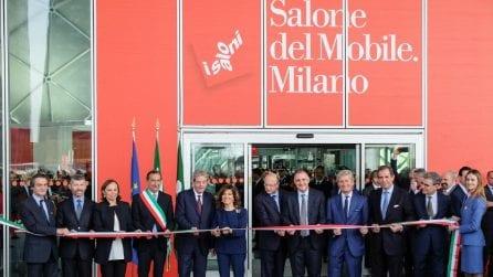 Inaugurata la 57a edizione del Salone del Mobile.Milano