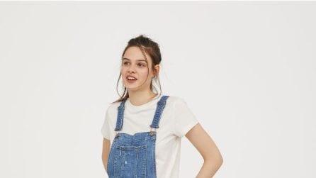 Le salopette trendy per la primavera 2018