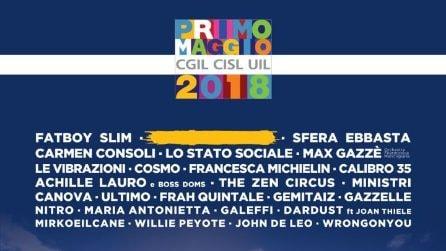 """Cantanti presenti al """"Concertone"""" del Primo maggio a Roma"""