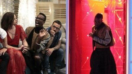 """'Grande Fratello 2018', Baye Dame Dia squalificato si giustifica: """"Aida Nizar mi ha insultato"""""""