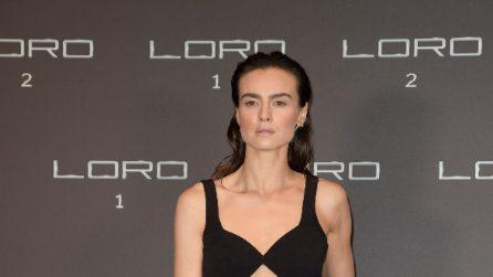 """Il look di Kasia Smutniak per la prima di """"Loro 2"""""""