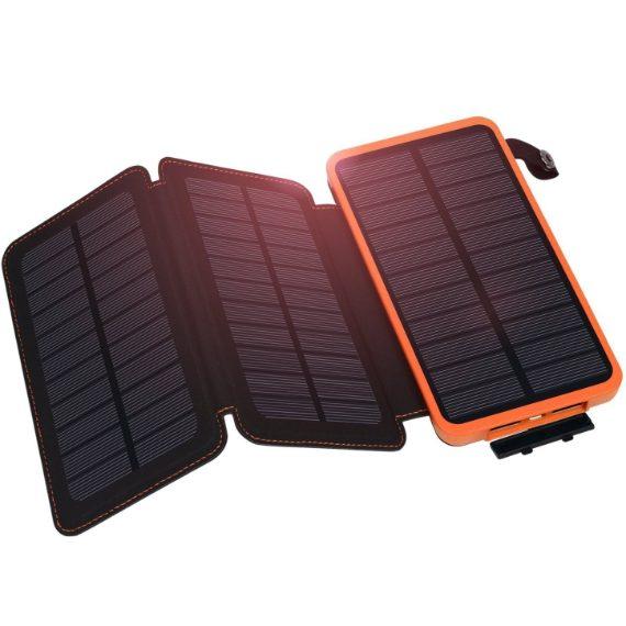 Caricabatterie solare in vendita su eBay (39, 90 euro).