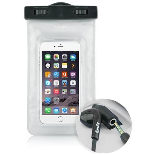 Custodia impermeabile per smartphone in vendita su eBay (24,97 euro).