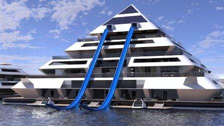 Ecco come si vive in piramidi galleggianti in mezzo al mare