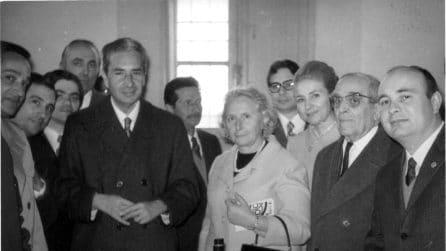 Le foto di Aldo Moro con la moglie Eleonora Chiavarelli