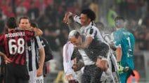 Coppa Italia, le immagini della finale Juve-Milan