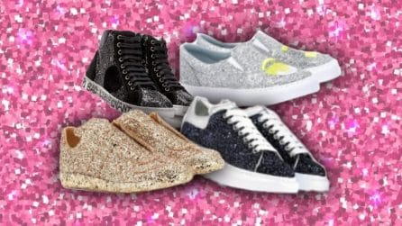 Le sneakers glitter dell'estate 2018
