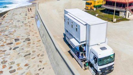 Sembra un comune camion ma nasconde il miglior hotel per gli amanti del surf